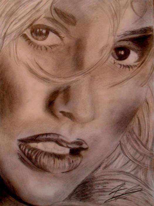Christina Aguilera by farylein95